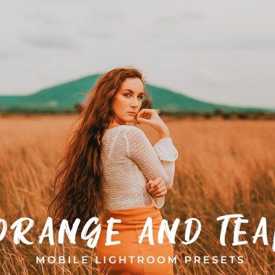 Orange And Teal – Lightroom Preset ( mobile and Desktop )