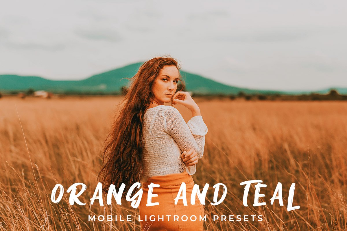 Orange And Teal Lightroom Preset Mobile And Desktop B Jeh