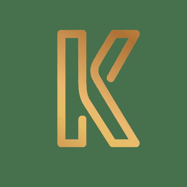 K LOGO BY BJEHSHRESTHA