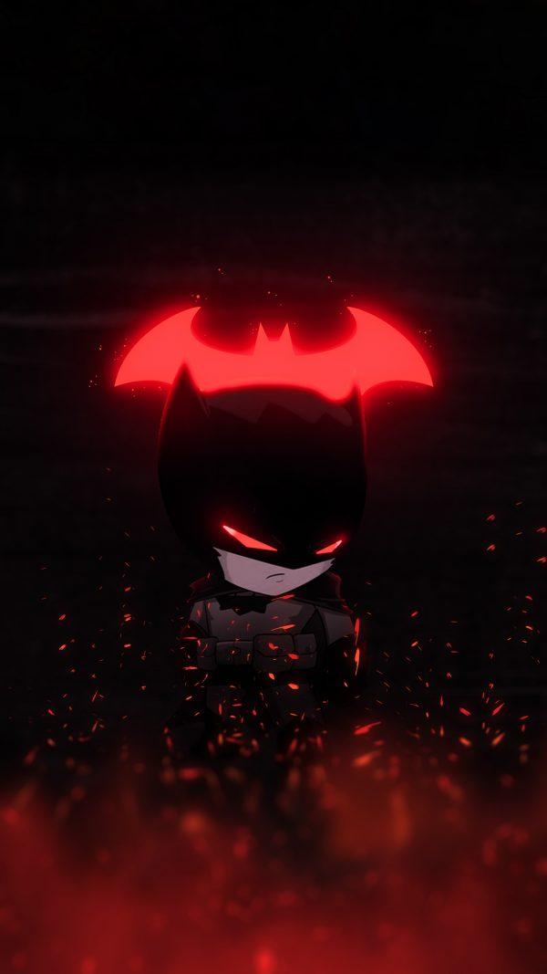 red-glowing batman wallpaper-by-@bjehs_
